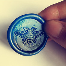 Brass Sealing Wax Stamp Bee Designs Wax Stamp for Sealing Envelopes Homemade for DIY stamp decoration