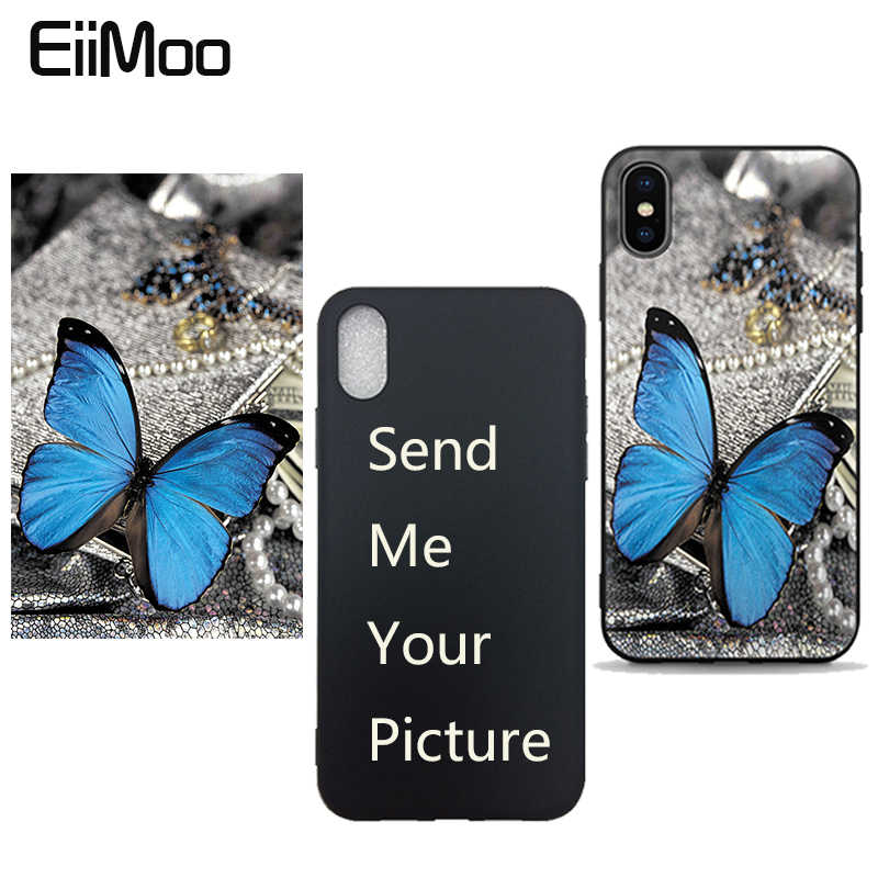 EiiMoo Customized Photos Diy Design Cases For Samsung Galaxy S8 S8 Plus Note 8 A3 A5 J3 J5 J7 2017 J2 Prime Silicone Case Cover