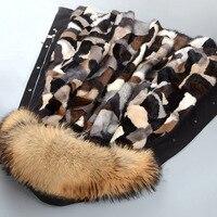 JKP новая норковая шуба длинная тонкая с капюшоном теплая зимняя плюшевая куртка большого размера 5XL
