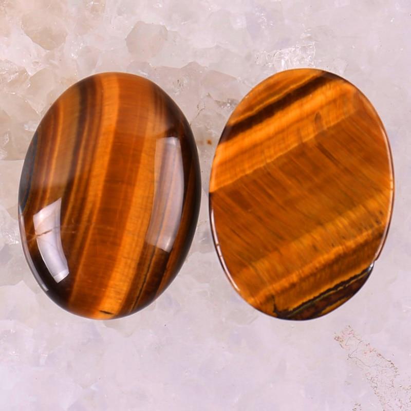 30x22MM Tigereye Bead Oval Cabochon CAB GEM Jewelry Making (2pcs/lot) H050