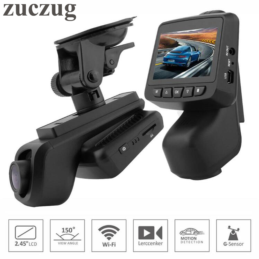 ZUCZUG Mini caméra cachée DVR caméra WiFi APP caméra A307 Novatek 96658 Full HD1080P Sony IMX323 caméra de tableau de bord avec enregistreur vidéo de voiture WiFi