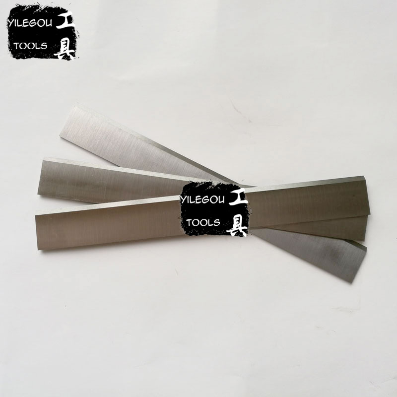 Free Shipping 3Pcs Wood Planer Blades 3*25*300mm Electric Planer Blades W4 Saw Blade (Width: 25mm Length:100-410mm)