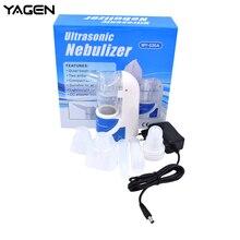 Home Health Care Ultrasonic Atomizer แบบพกพา Mini Nebulizer เด็ก Care มือถือ Airway Inhale Nebulizer
