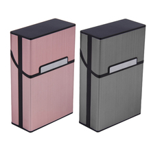 Caja de cigarrillos de aluminio creativa con personalidad de 2020, caja de bolsillo para guardar tabaco para hombres, caja de regalo