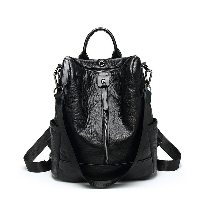 Single Zipper Black