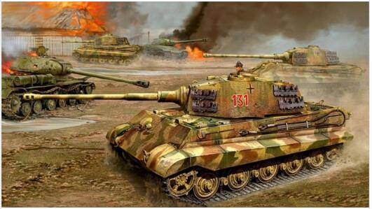 US $12 0 20% OFF|War Art cannon armies Canvas Poster Wall Decoration  painting Art World War II Konigstiger heavy tank flames of war Tiger-in  Painting