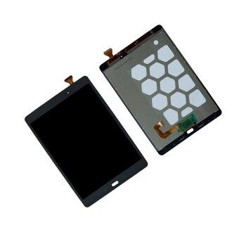 شاشة الكريستال السائل ل سامسونج غالاكسي تبويب 9.7 SM-T550 SM-T551 SM-T555 شاشة الكريستال السائل محول الأرقام بشاشة تعمل بلمس لوحة الجمعية إصلاح أجزاء