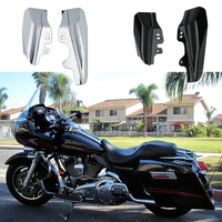 Mid Frame Air Deflectors Trim For Harley Touring Street Road King Electra Street Glide CVO Road King 2001 2008