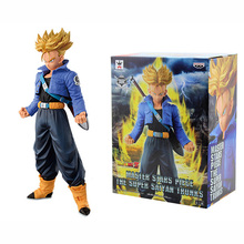 Dragon Ball Z Super Saiyan Trunks MSP Master Stars Piece PVC Figure Collectible Model Toy DBZ 100% original banpresto master stars piece msp collection figure the super saiyan trunks from dragon ball z
