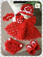 Crochet Christening Dress,Crochet Baptism Dress