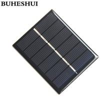 BUHESHUI 0.6W 3V Polycrystalline Solar Cells Solar Panels Solar For Charging 2.4V Battery DIY Solar System 60*75MM 10pcs Epoxy