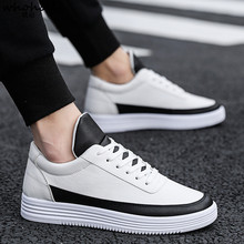 WHOHOLL Men Casual Shoes Breathable Classic Flat Male Brand Footwear Mens Causal New Spring Summer Sneakers for