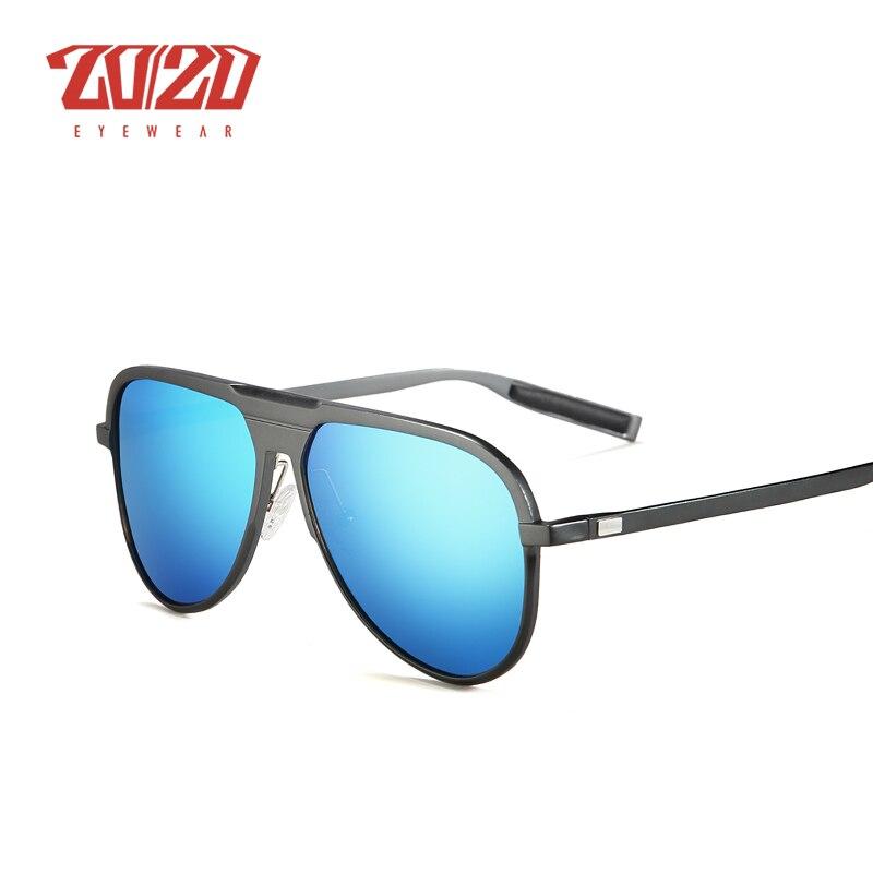 Image 2 - 20/20 Unisex Classic Brand Aluminum Sunglasses Men Polarized UV400 Mirror Male Sun Glasses Women For Men Oculos PK016brand sun glassessun glassessun glasses brands -
