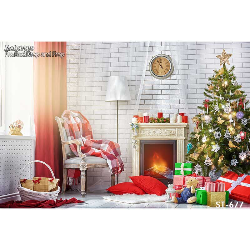Thin vinyl photography Christmas backgrounds Computer Printed children Photography backdrops for Photo studio ST-677 thin vinyl photography cloth computer printed children photography backdrops christmas theme background for photo studio st 756