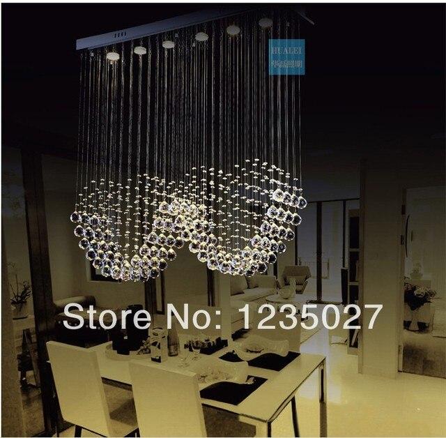 doppelherzform moderne kristall kronleuchter deckenleuchte lampe leuchte kristall pendelleuchte fr treppen sy30514l - Kronleuchter Deckenleuchte
