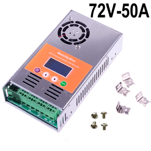 Image 3 - Makeblue MPPT Солнечный контроллер заряда 30A 45A 50A только для 72V 96V DC кислота и литиевая батарея версия V118