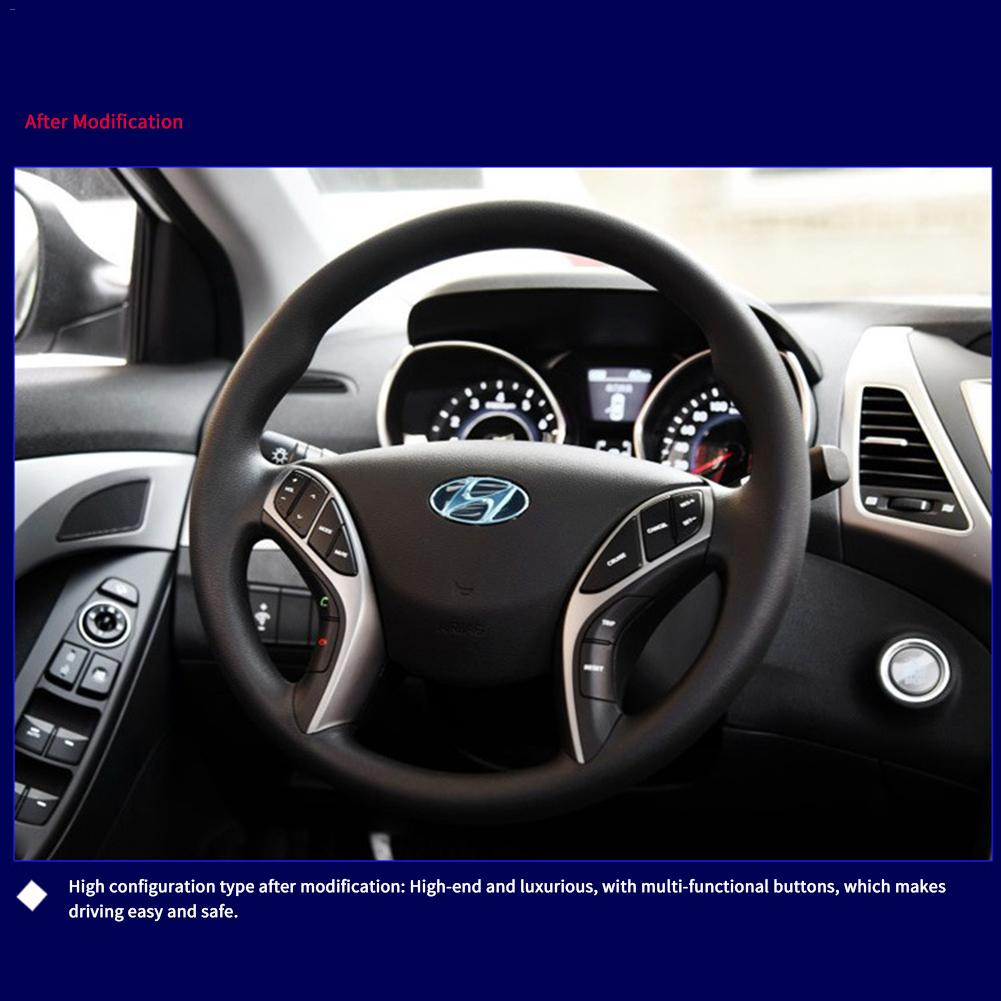 Para Hyundai Elantra 2012 I30 2015 de Cruzeiro Volante Botão Interruptor de  Volume De Áudio Controle Remoto Handsfree Volante Botão em Volantes   Cubos  de ... ecb4a86f77da7
