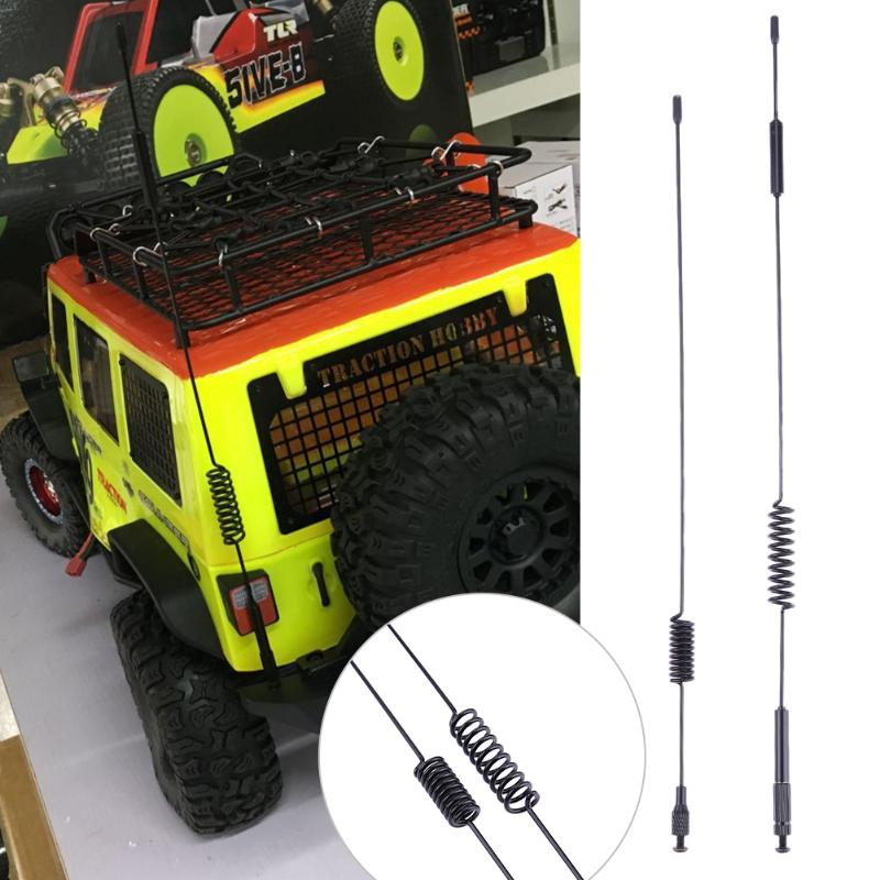 Traxxas TRX-4 RC Crawler Car Parts&Accessories 2pcs/Set Metal Antenna for Climbing Accessories