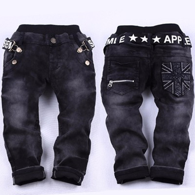 New Year's gift, jeans boy for children wear fashionable style and high quality kids jeans,  boys jeans+boys ripped jeans ,2-14T