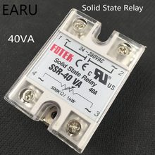SSR-40VA regulador de resistencia de Base metálica relé de estado sólido 500 Kohm