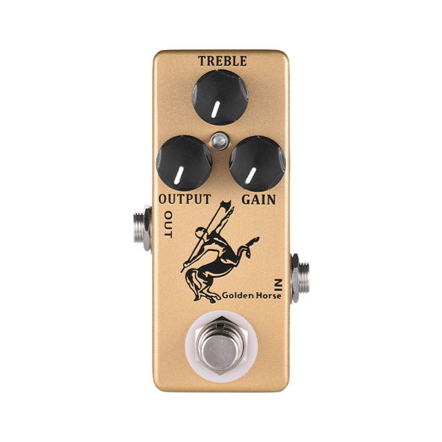 MOSKY Golden Horse Guitar Effect Pedal Overdrive Guitar Pedal Full Metal Shell True Bypass Guitar Parts & Accessories