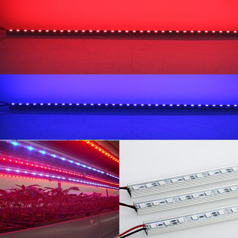 10бр / лот 10W 0.5m DC12V LED ленти растеж - Професионално осветление - Снимка 6