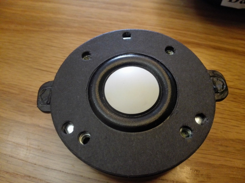 coppia 2 pezzi melo david audio CMMD cupola ceramica magnete NEO altoparlante tweeter per hifi / AV / car audio