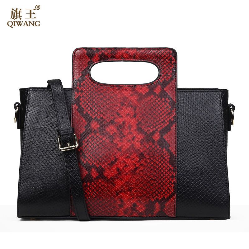 Qiwang Fashion Women Envelope Clutch Bag Sexy Red Cow lEATHER Bags for Women Trend Fashion Handbag Tote Ladies Clutch simple fashion women handbag solid color clutch bag leather envelope bags ladies over shoulder package 88 wml99