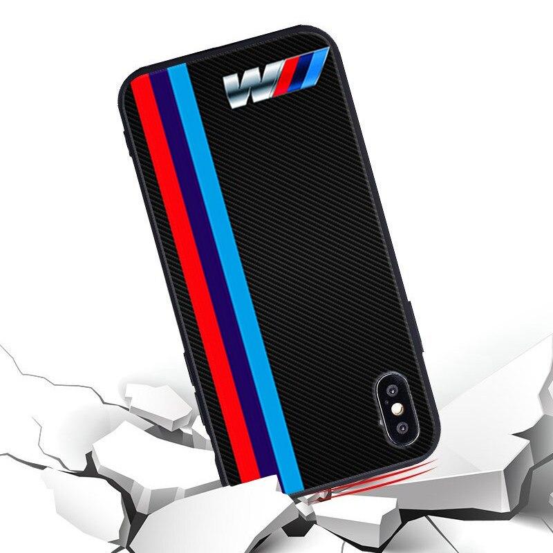 size 40 fe088 74eff Minason Soft Iphone 5 5S SE 7 8 Plus X Case BMW Audi Silicone Phone Cases  For Iphone 6 6S Deadpool Batman Cover Coque
