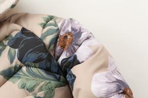 Image 3 - ニューキッズ冬のジャケットカジュアルなフード付きジッパー上着女の子コート綿入りプリント子供子供服 2 9 歳