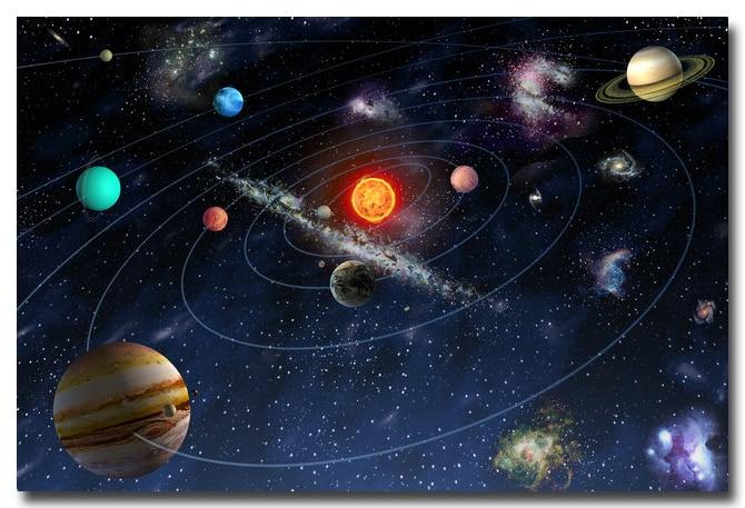 Space Stars Nebula Solar System Giant Wall Art Poster Print