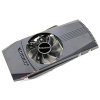 Computer Cooler Radiator With Heatsink Heatpipe Cooling Fan For ASUS GTX460 550Ti 560 HD6790 Grahics Card