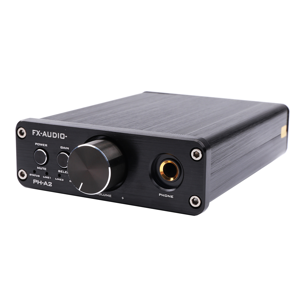 FX-AUDIO PH-A2 MINI HIFI audio Desktop Portable Headphone Amplifier OPA2604AP TPA6120 AMP finished a2 pro headphone amplifier hifi reference beyerdynamic a2 headhpone amp diy new