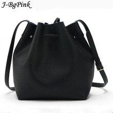 Nuevo sin marcar cubos de las señoras correas retro messenger bag ladies bolso de LA PU bolso de lujo del diseñador famoso