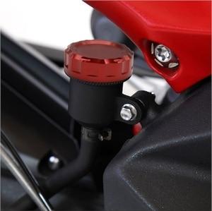 Image 5 - Motorcycle CNC Aluminum Rear Moto Brake Cylinder Fluid Reservoir Cover Caps For Kawasaki Z800 Z 800 2013 2014 2015 2016