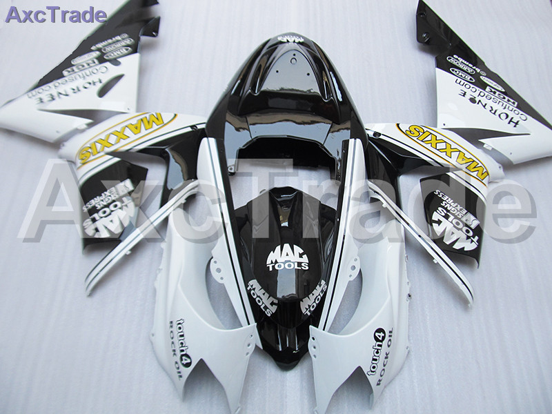 High Quality ABS Plastic For Kawasaki Ninja ZX10R ZX-10R 2004 2005 04 05 Moto Custom Made Motorcycle Fairing Kit Bodywork C459