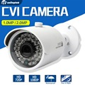 1.0MP Cámara CVI HD 1080 P Bala 3.6mm Lente 36 Unids Leds IR Visión nocturna Impermeable Al Aire Libre del CCTV DVR CVI Cámara 720 P Para CVR