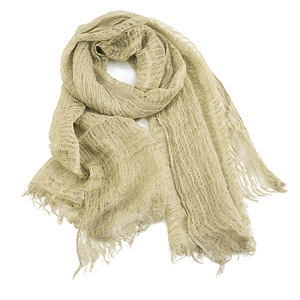 Image 5 - NEW Japanese Unisex Style Winter Scarf Cotton And Linen Solider Color Long womens Scarves Shawl Vintage Winter Warm Men Scarf