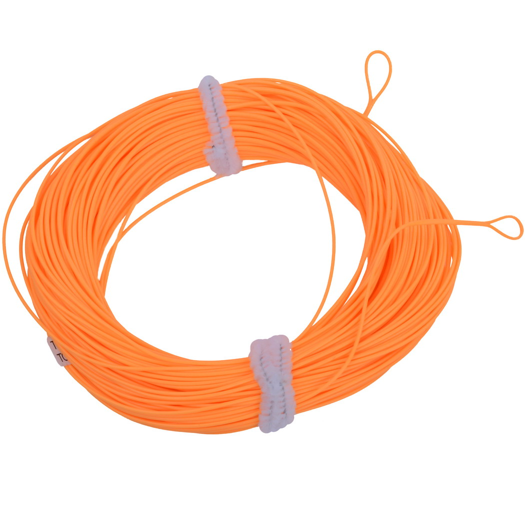 100FT Weight Forward Floating Fly Fishing Line 2 Welded Loops Floating Fishing Line WF-2 ...