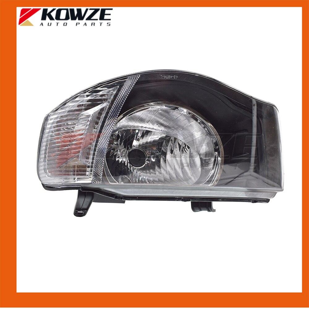 Timing Belt Kit Fit For Mitsubishi Triton Pickup L200 2003 Hyundai Left Headlamp Head Lamp Light White Surface 2005 2014 8301a825