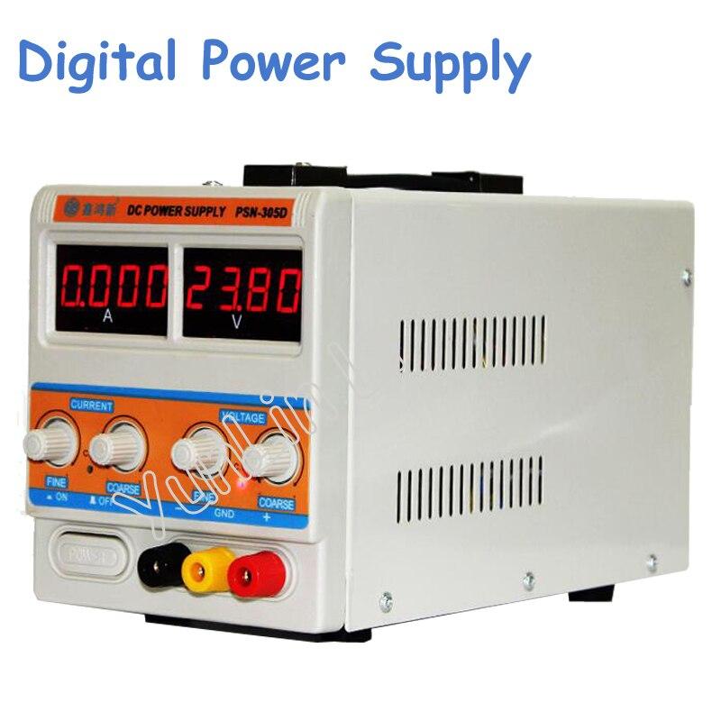 30V/5A Switching Regulated Adjustable Digital DC Power Supply SMPS 110V/220V Regulated Stablizers sw3010d mini digital dc regulator adjustable power supplier 30v 10a 110v 220v voltage switching power supply