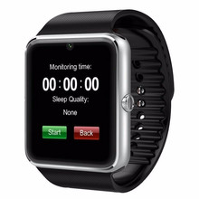 Smartwatch GT08 Original Smart Touch Watch Bluetooth Wristwatch for Apple iPhone ios Samsung Android Mobile Phone