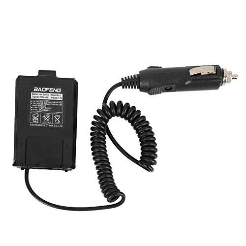 2Pcs Baofeng UV-5R Battery Eliminator Car Charger UV 5R Portable Radio Car Charge UV-5RE UV-5RA Walkie Talkie Car Radio Adapter