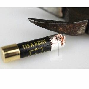 Image 4 - Single crystal nano silver fuse 0.5A 1A 2A 3.15A 6.3A 4A 6A10A 15A audio grade for amplifier dac preamplifier headphone amp CD