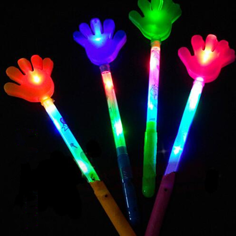 Costume Props Novelty & Special Use Bright Children Led Magic Animal Butterfly Wand Sticks Flashing Light-up Glow Spring Sticks Party Concert Cheering Props Christmas High Quality Materials