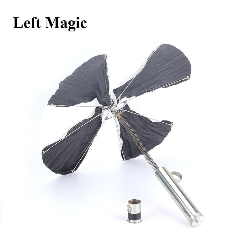 Torch To Umbrella Magic Tricks Automatic Fire Umbrellas Fire Stage Magic Trick Gimmick Props Illusions