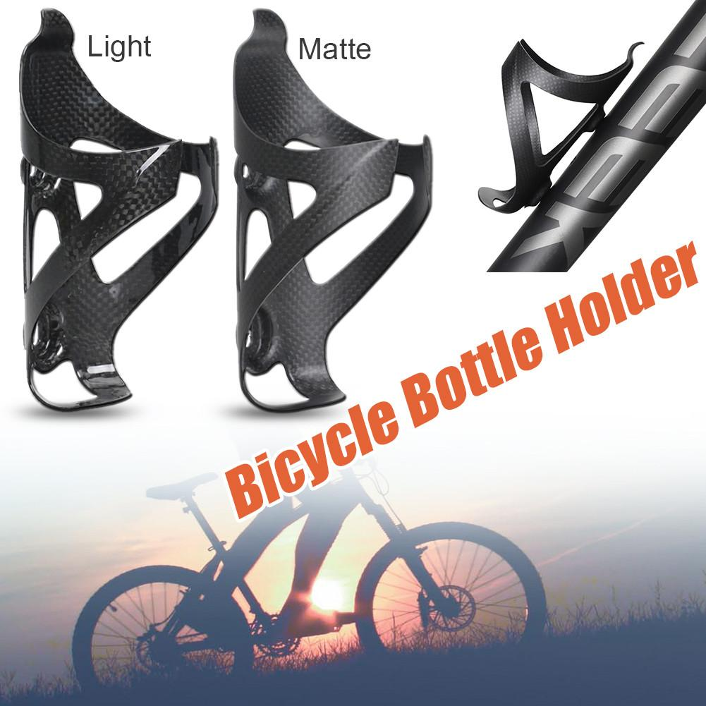 1x TOSEEK Carbon UD MTB Mountain Road Bike Bicycle Water Bottle Holder Rack Cage