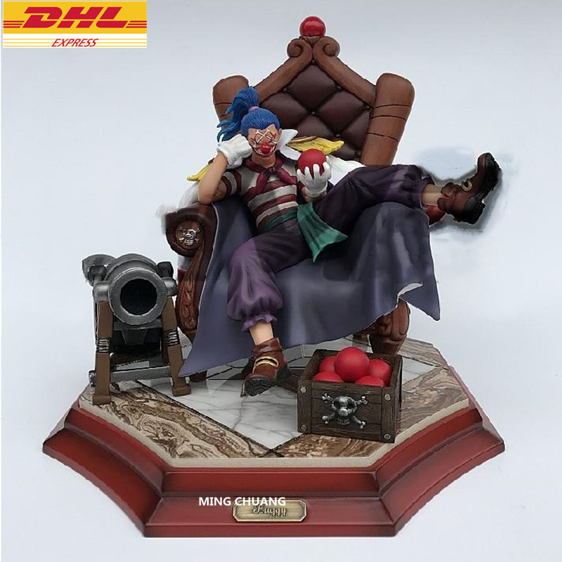 цена на 11ONE PIECE Statue Seven Warlords Of The Sea Bust Buggy Joker GK Action Figure Collectible Model Toy BOX D704