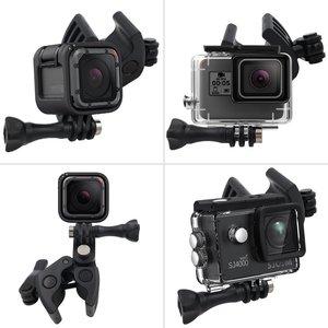 Image 4 - Gun Angelrute Bogen Pfeil Clamp für XIAOMI Mijia Panorama 360 Mi Kugel Camcorder/Mijia Mini 4 Karat Action kamera
