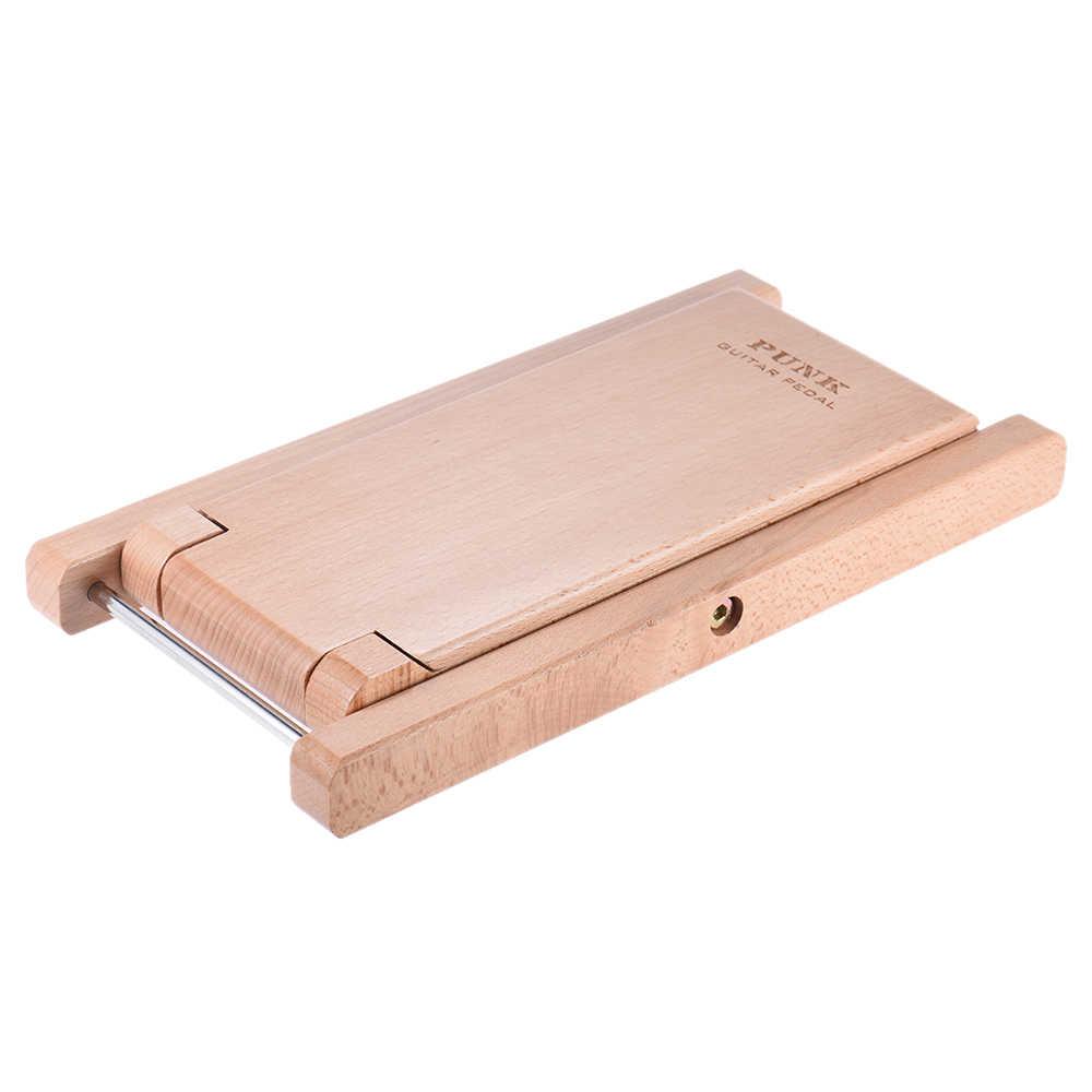Składany drewniana gitara podnóżek stołek pedał 4 na poziomie regulowana wysokość z drewna bukowego materiał na gitara graczy
